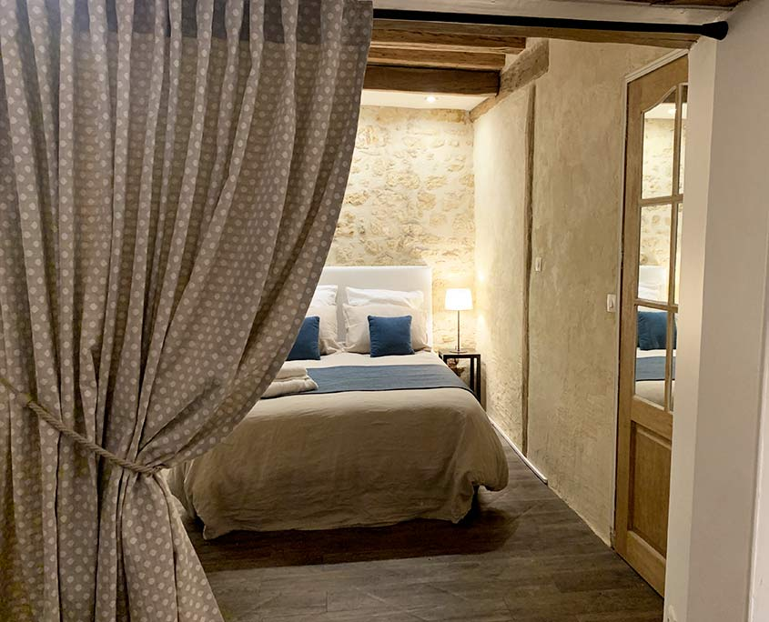 Studio Le Petit Hameau de Chantilly bedroom